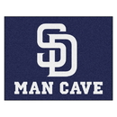 Fanmats 22460 MLB - San Diego Padres Man Cave All-Star Mat 33.75