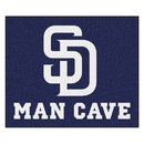 Fanmats 22461 MLB - San Diego Padres Man Cave Tailgater Rug 59.5