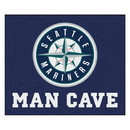 Fanmats 22469 MLB - Seattle Mariners Man Cave Tailgater Rug 59.5