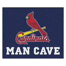 Fanmats 22473 MLB - St. louis Cardinals Man Cave Tailgater Rug 59.5