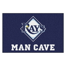 Fanmats 22475 MLB - Tampa Bay Rays Man Cave Starter Rug 19