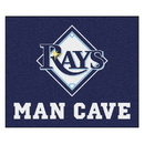 Fanmats 22477 MLB - Tampa Bay Rays Man Cave Tailgater Rug 59.5