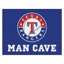 Fanmats 22480 MLB - Texas Rangers Man Cave All-Star Mat 33.75