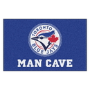Fanmats 22486 MLB - Toronto Blue Jays Man Cave UltiMat 59.5