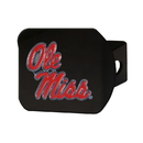 Fanmats 22710 University of Mississippi (Ole Miss) Color Hitch Black 3.4