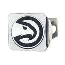 Fanmats 22717 NBA - Atlanta Hawks Chrome Hitch Cover 4 1/2