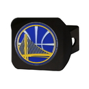 Fanmats 22730 NBA - Golden State Warriors Color Hitch Black 3.4
