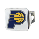 Fanmats 22731 NBA - Indiana Pacers Color Hitch Chrome 3.4