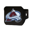 Fanmats 22766 NHL - Colorado Avalanche Color Hitch Black 3.4