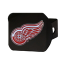 Fanmats 22768 NHL - Detroit Red Wings Color Hitch Black 3.4