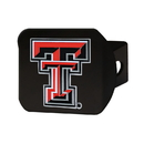 Fanmats 22828 Texas Tech University Color Hitch Black 3.4