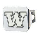 Fanmats 22840 Washington Chrome Hitch Cover 4 1/2