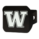 Fanmats 22841 Washington Black Hitch Cover 4 1/2