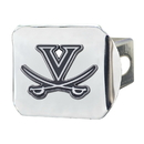 Fanmats 22846 Virginia Chrome Hitch Cover 4 1/2