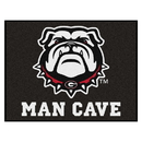 Fanmats 22876 Georgia Black New Bulldog Man Cave All-Star Mat 33.75