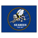 Fanmats 22949 U.S. Navy All-Star Mat 33.75