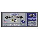 Fanmats 23112 NFL - Baltimore Ravens Ticket Runner 30