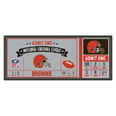 Fanmats 23117 NFL - Cleveland Browns Ticket Runner 30