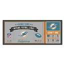 Fanmats 23126 NFL - Miami Dolphins Ticket Runner 30