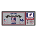 Fanmats 23130 NFL - New York Giants Ticket Runner 30