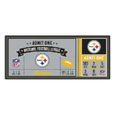 Fanmats 23134 NFL - Pittsburgh Steelers Ticket Runner 30