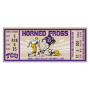 Fanmats 23142 Texas Christian University Ticket Runner 30
