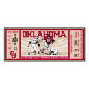 Fanmats 23143 University of Oklahoma Ticket Runner 30