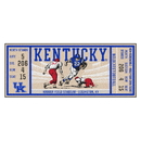 Fanmats 23144 University of Kentucky Ticket Runner 30