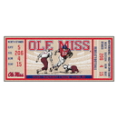 Fanmats 23148 University of Mississippi - Ole Miss Ticket Runner 30