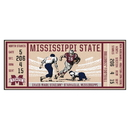 Fanmats 23150 Mississippi State University Ticket Runner 30