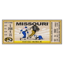Fanmats 23159 University of Missouri Ticket Runner 30