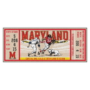 Fanmats 23161 University of Maryland Ticket Runner 30