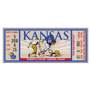 Fanmats 23162 University of Kansas Ticket Runner 30