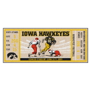 Fanmats 23163 University of Iowa Ticket Runner 30