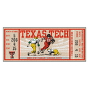 Fanmats 23165 Texas Tech University Ticket Runner 30