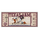 Fanmats 23166 Texas A&M University Ticket Runner 30