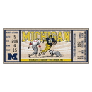 Fanmats 23173 University of Michigan Ticket Runner 30