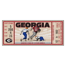 Fanmats 23175 University of Georgia Ticket Runner 30