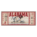 Fanmats 23178 University of Alabama Ticket Runner 30