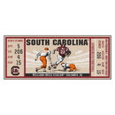 Fanmats 23180 University of South Carolina Ticket Runner 30