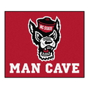 Fanmats 23974 NC State Man Cave Tailgater Rug 59.5