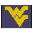 Fanmats 2464 West Virginia Tailgater Rug 59.5