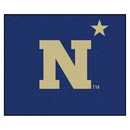 Fanmats 3541 U.S. Naval Academy Tailgater Rug 59.5