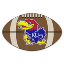 Fanmats 3601 Kansas Football Rug 20.5