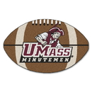 Fanmats 3690 UMass Football Rug 20.5