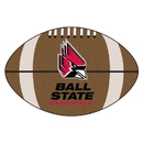 Fanmats 4285 Ball State Football Rug 20.5