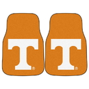 Fanmats 5078 Tennessee 2-pc Carpeted Car Mats 17