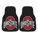 Fanmats 5293 Ohio State 2-pc Carpeted Car Mats 17