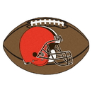 Fanmats 5705 NFL - Cleveland Browns Football Rug 20.5