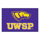 Fanmats 576 Wisconsin-Stevens Point Starter Rug 19